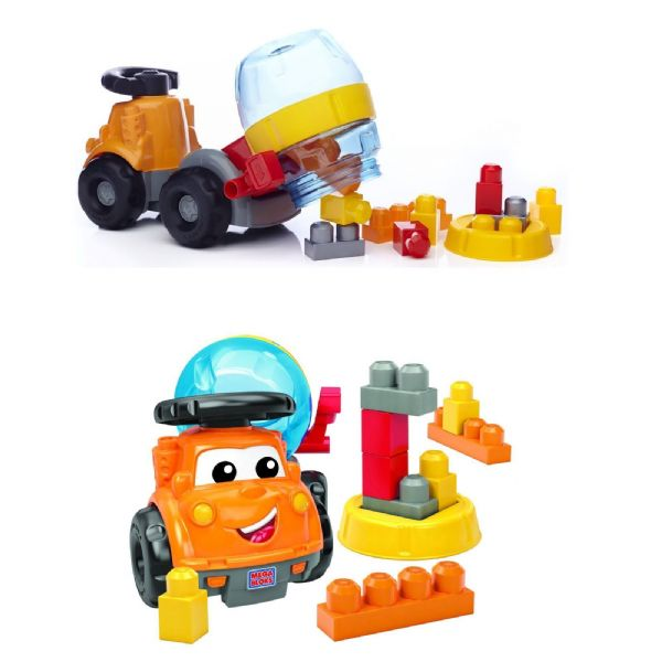 Mega Bloks First Builders Mike the Mixer 1-5 Years